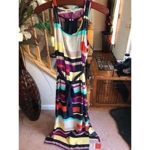 Multi color maxi Guess dress!